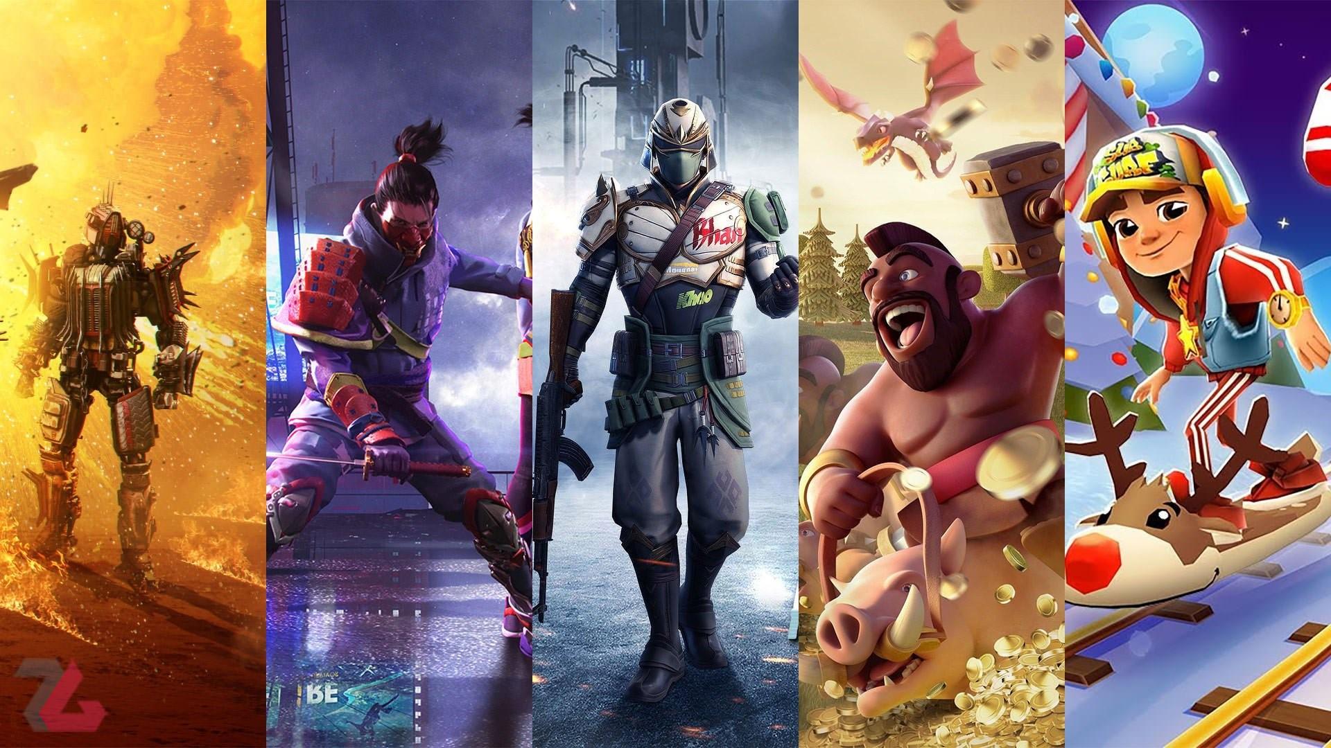 معرفی 10 بازی با بیشترین دانلود در فروشگاه اندروید مایکت