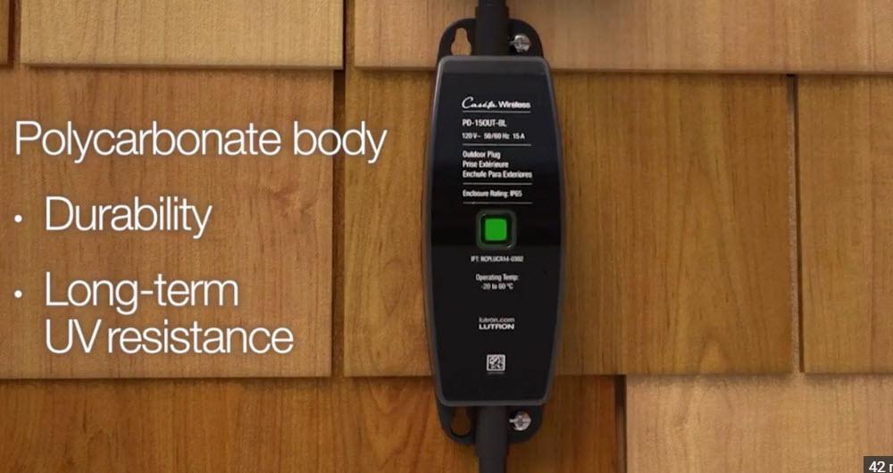 پلاگ هوشمند Caseta ؛ مقاوم در برابر شرایط سخت آب و هوایی