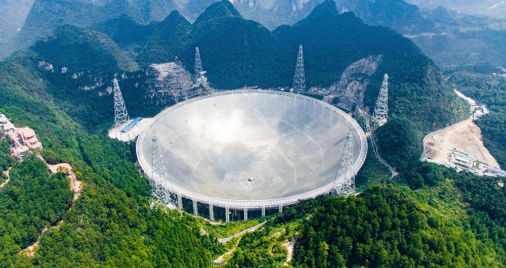 امکان استفاده از تلسکوپ FAST برای دانشمندان سراسر جهان
