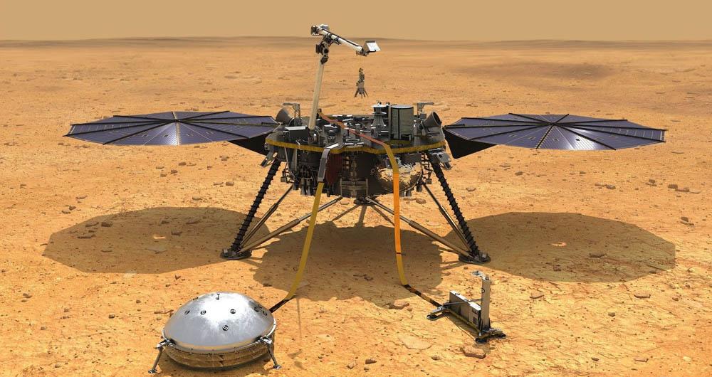ناسا به ماموریت کاوشگر InSight خاتمه می دهد