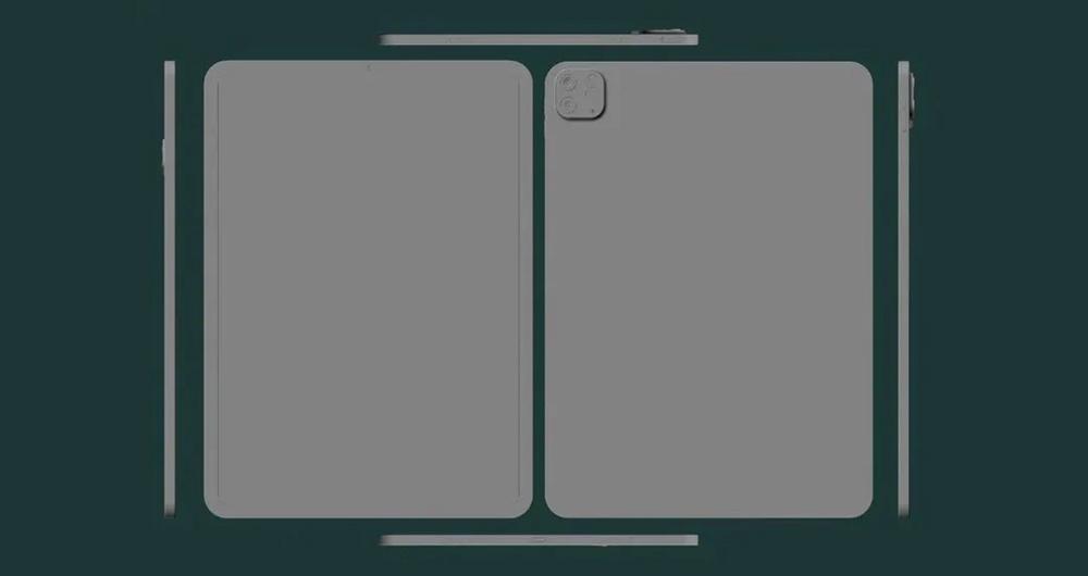 رندرهای جدید آیپد پرو اپل به فضای مجازی راه پیدا کرد
