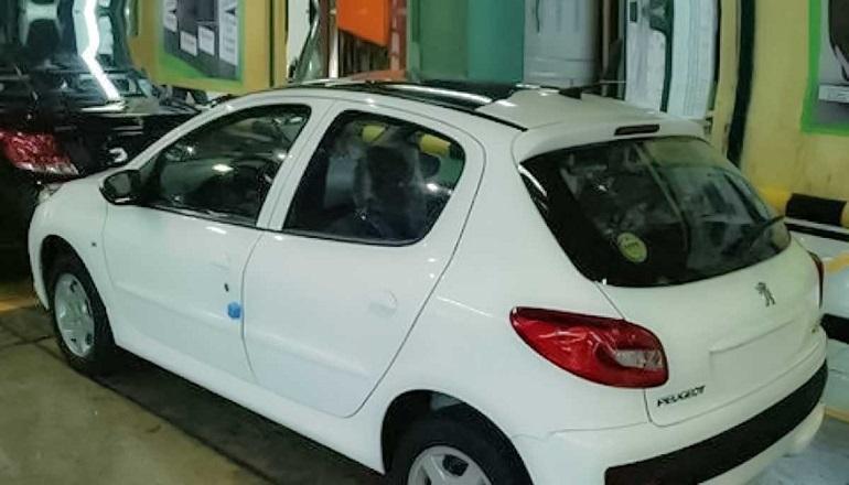 قیمت پژو 207 اتوماتیک با سقف شیشهای و قیمت جک k7 کرمان موتور مشخص شد