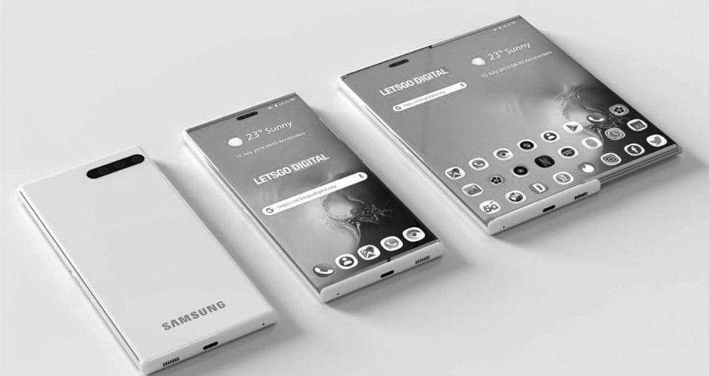 نمایشگرهای رول شدنی و کشویی سامسونگ دیسپلی در سال 2021