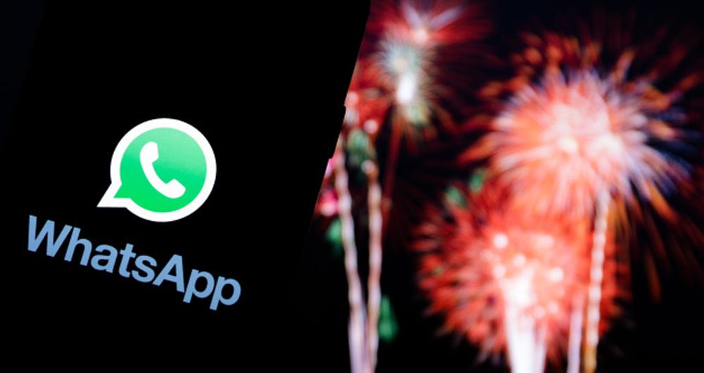 رکوردشکنی واتس اپ در شب سال نو ؛ ثبت بیش از 1.4 میلیارد تماس در یک روز