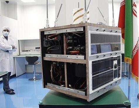 تحویل ۴ ماهواره به سازمان فضایی ایران