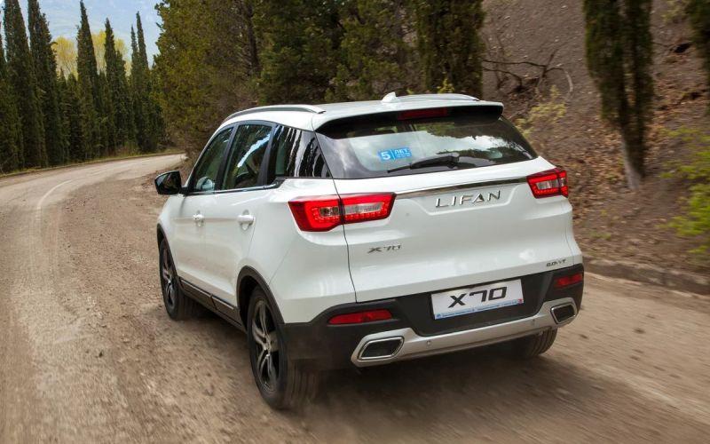 قیمت لیفان x70 از سوی خودروسازان بم مشخص شد