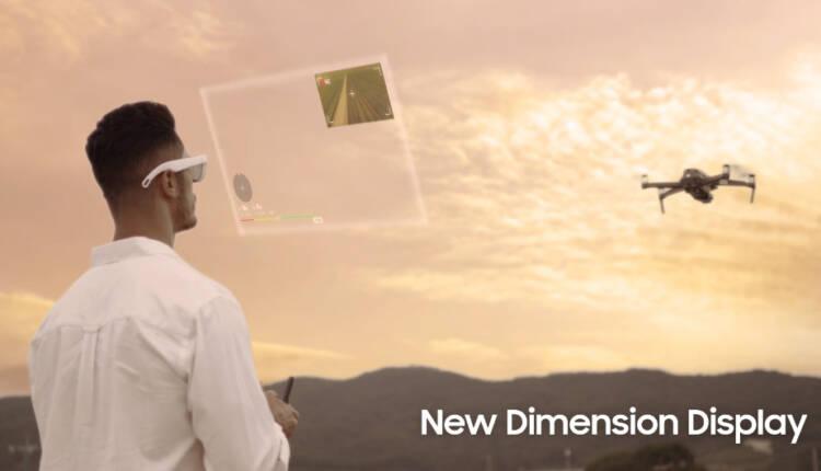 افشای ویدیوهای مفهومی از عینک های واقعیت افزوده سامسونگ