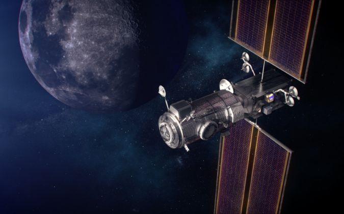 ایستگاه «دروازه ماه» ناسا سوار بر راکت فالکون به فضا فرستاده می شود