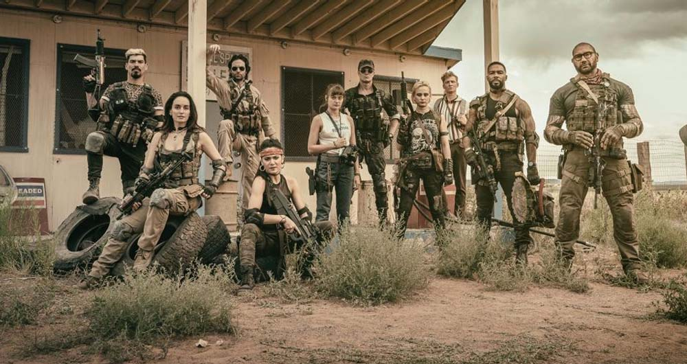 تاریخ رسمی عرضه فیلم Army of the Dead زک اسنایدر اعلام شد
