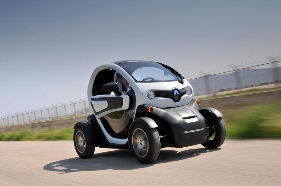 ده خودرو برتر الکتریکی-رنو تیزی