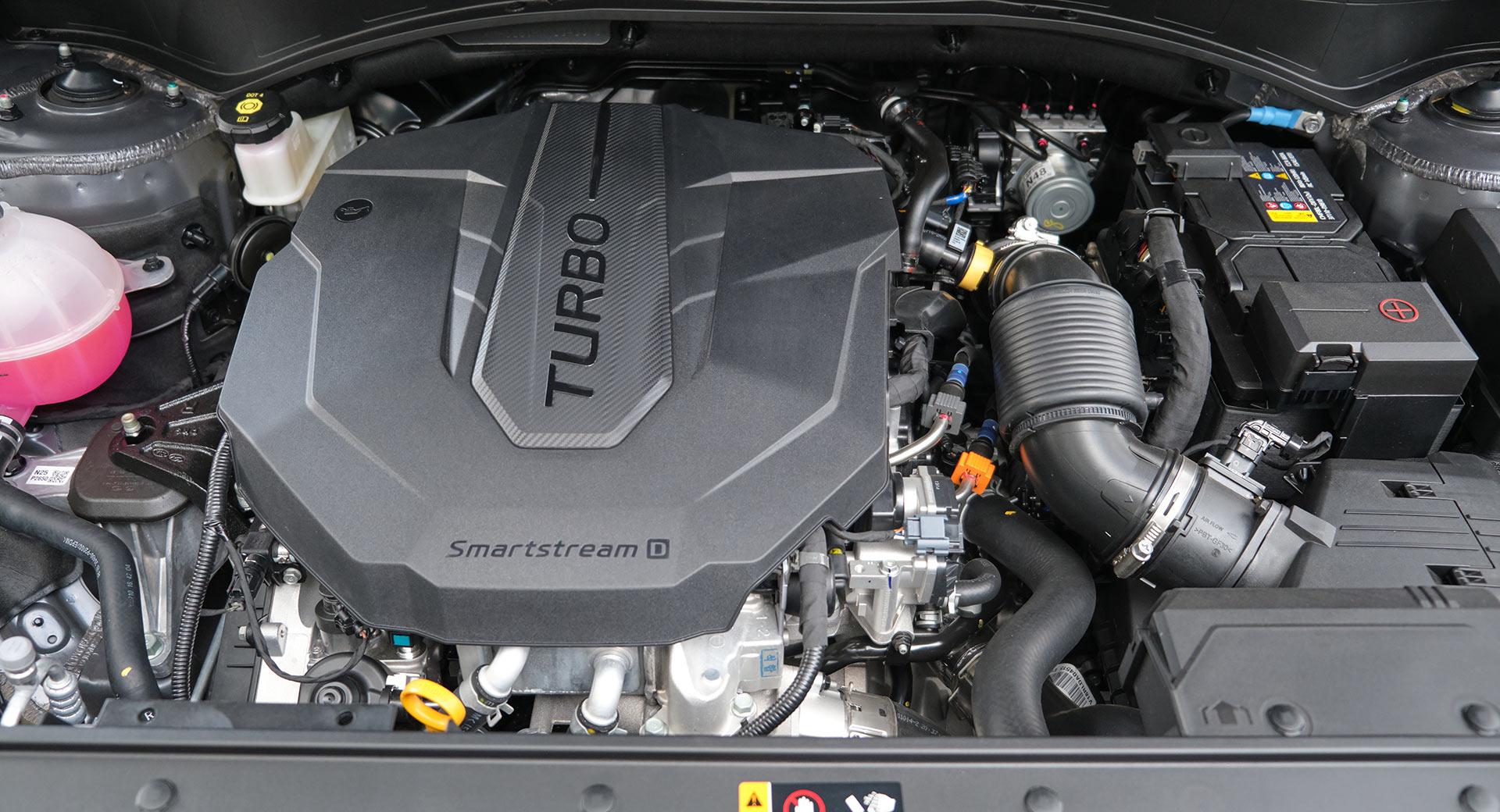 موتور هیوندای سانتافه 2021