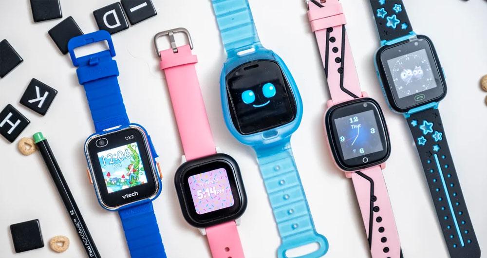 معرفی چند نمونه از بهترین ساعت های هوشمند مخصوص کودکان