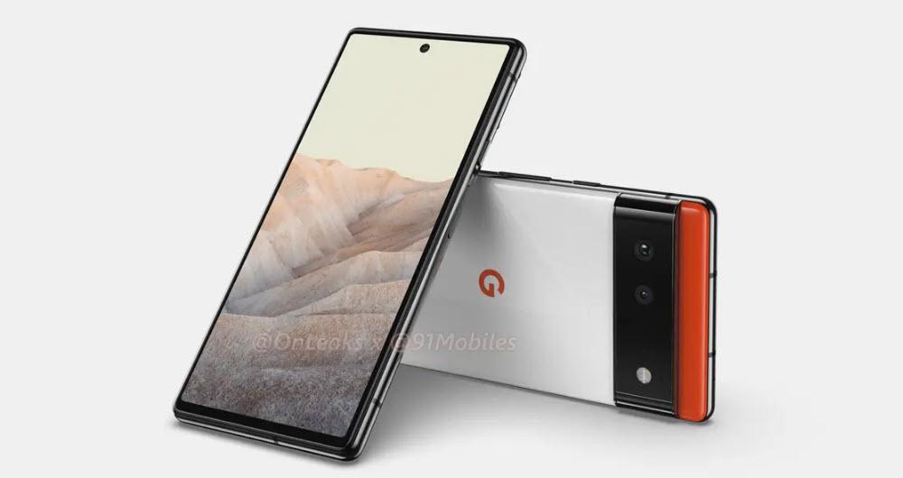 گوشی پیکسل 6 گوگل دارای نمایشگر 6.4 اینچی مسطح خواهد بود