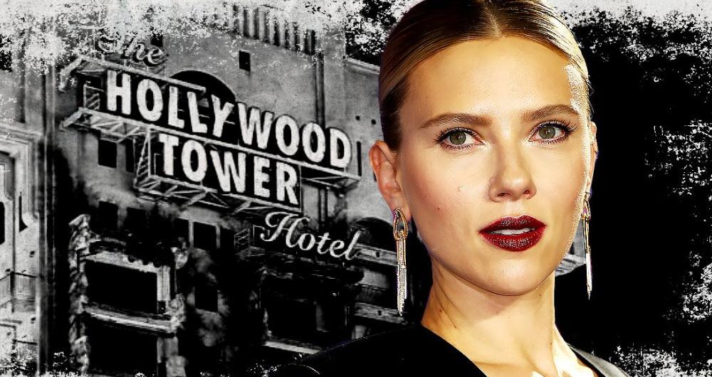 حضور اسکارلت جوهانسون در فیلم Tower of Terror