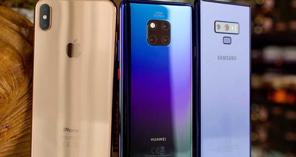 قیمت انواع گوشی موبایل