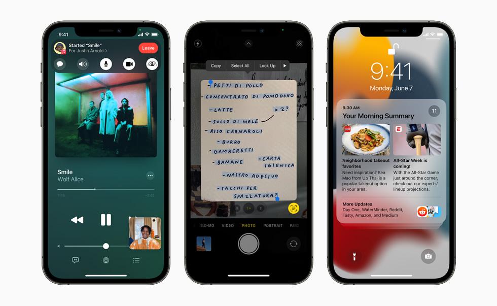 سیستم عامل iOS 15 در WWDC 2021
