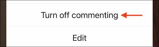 غیرفعال کردن کامنت در اینستاگرام