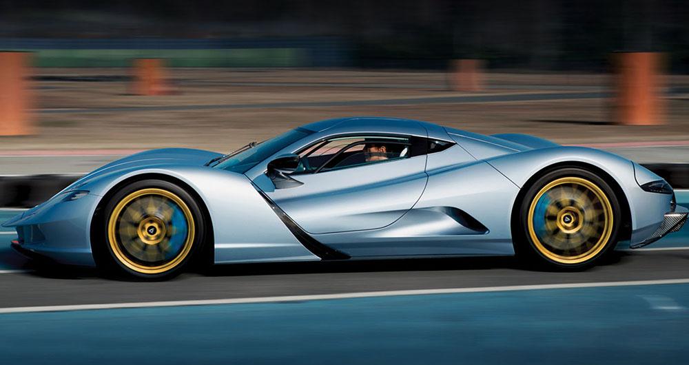 سریع ترین ماشین برقی جهان 2021