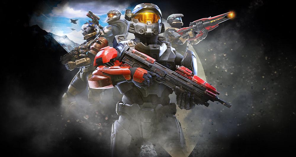 نمایی از بازی Halo Infinite