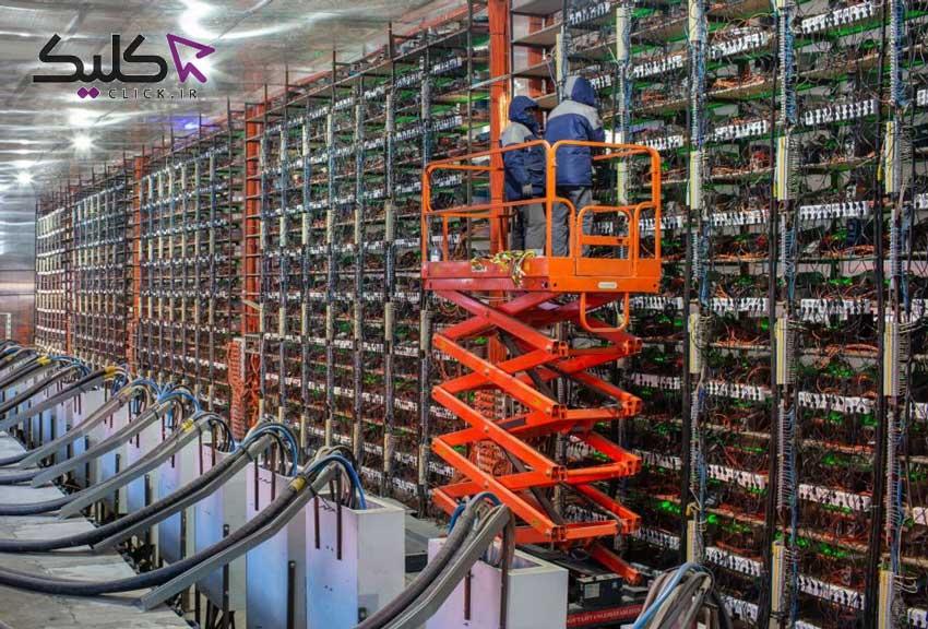استخراج بیت کوین در حال حرکت است