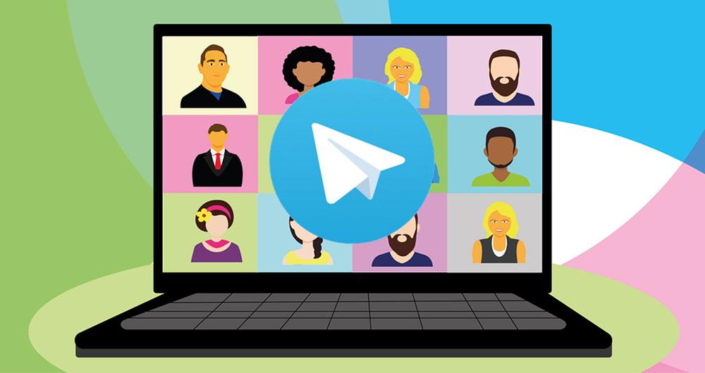 تماس تصویری گروهی در تلگرام
