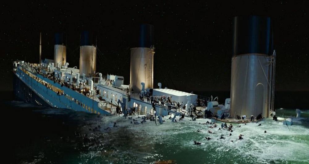 سکانس های فیلم تایتانیک که با واقعیت در تضاد هستند