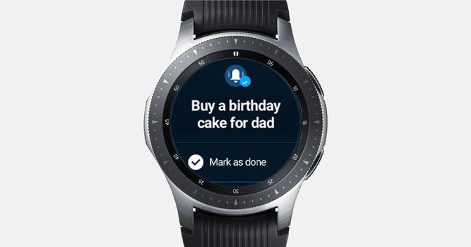 اپلیکیشن های کاربردی Galaxy Watch