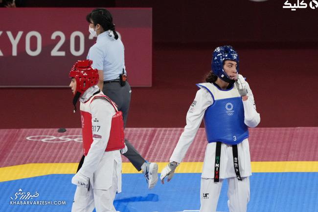 کیمیا علیزاده نماینده ایران را از المپیک حذف کرد