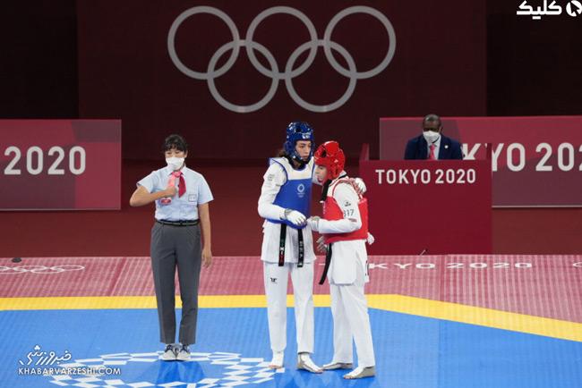 بازی کیمیاعلیزاده و ناهید کیانی در المپیک