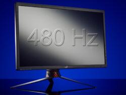 مانیتور ۴۸۰ هرتزی فوق سریع به زودی وارد بازار میشود