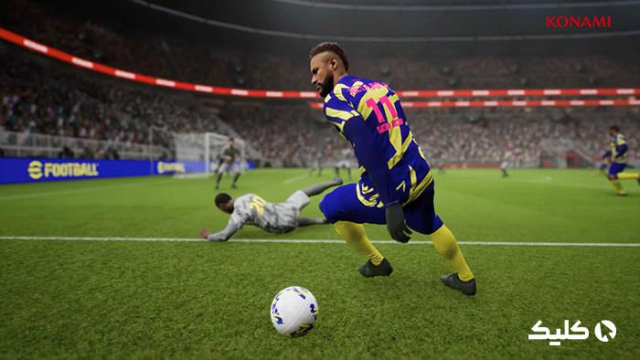 گیم پلی بازی PES 2022