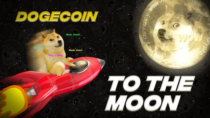 دوج کوین به ماه خواهد رسید!