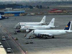 تعطیلی فرودگاهها 14 مرداد