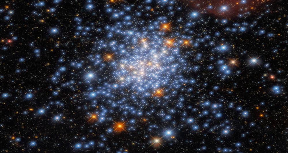 تصویر خیره کننده تلسکوپ هابل از خوشه ستاره ای NGC 330