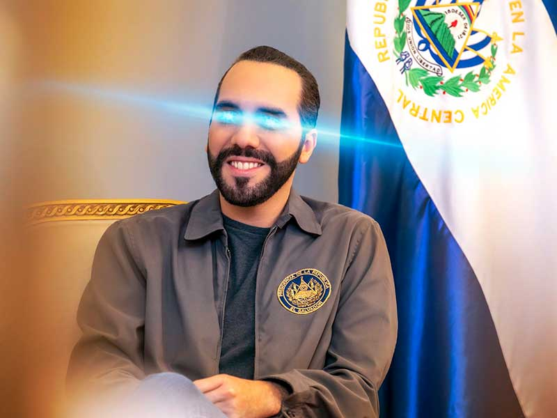 نجیب ابوکیله، رئیسجمهور السالوادور