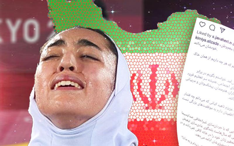 واکنش کیمیا علیزاده به حواشی حضورش در المپیک توکیو
