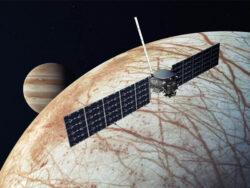 اروپا کلیپر ناسا سوار بر راکت اسپیس ایکس