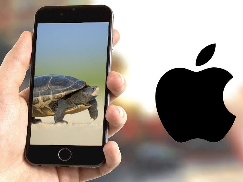 شرکت بزرگ اپل مجددا به کاهش عمدی سرعت CPU آیفون متهم شد