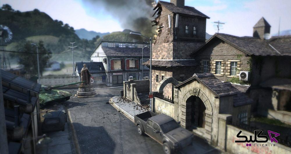 نقشه بازی کالاف دیوتی موبایل