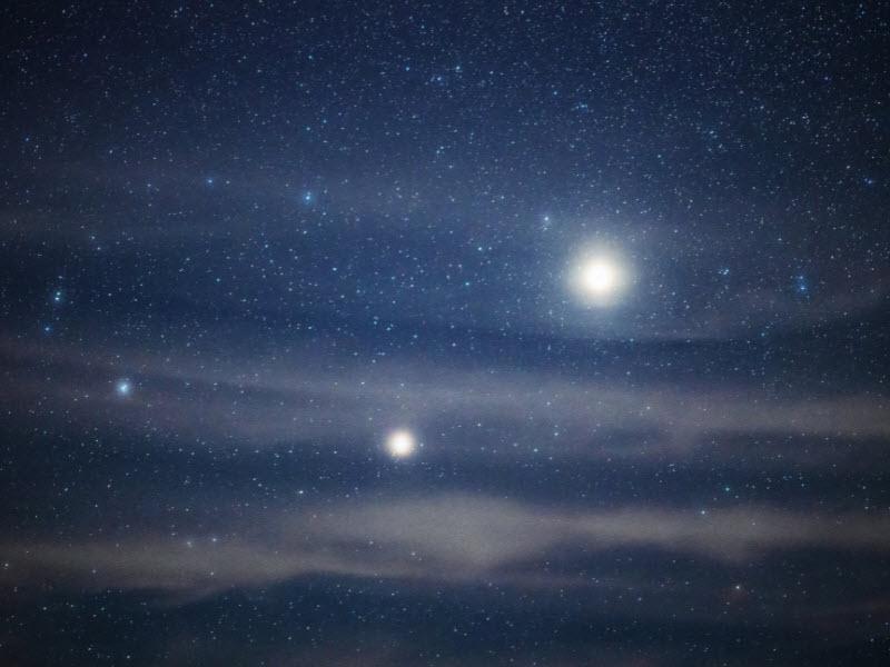 مریخ و زهره به نزدیکترین فاصله ممکن از یکدیگر میرسند