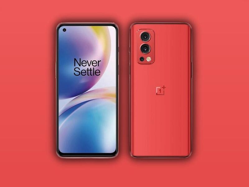 گوشی هوشمند وان پلاس نورد 2 5G به رنگ قرمز مجهز میشود