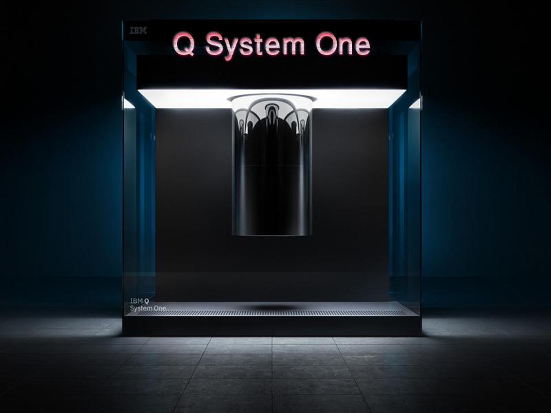 کامپیوتر کوانتومی IBM