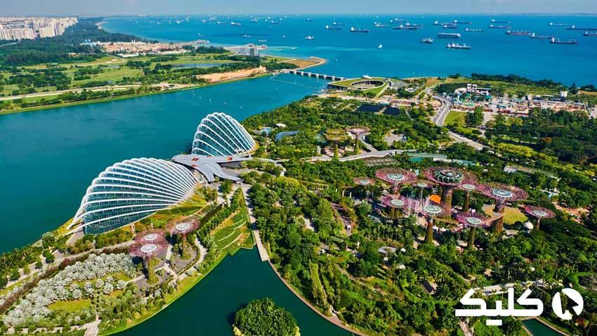 تصویر زیبا از سنگاپور
