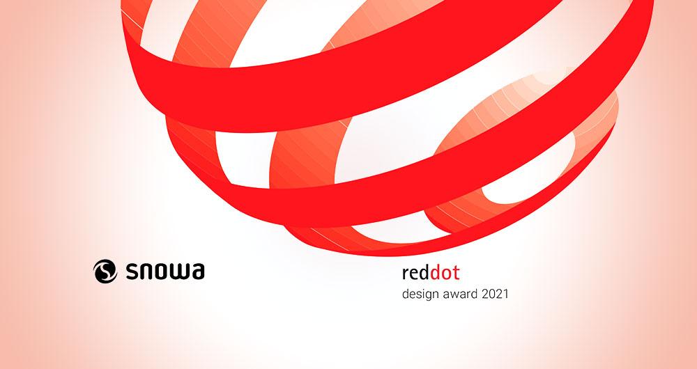اسنوا جایزه Reddot 2021