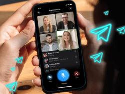 تماس های تصویری گروهی تلگرام