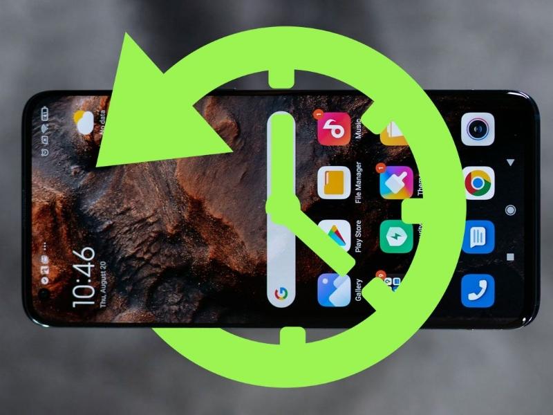 بازیابی برنامه ها در گوشی های اندروید