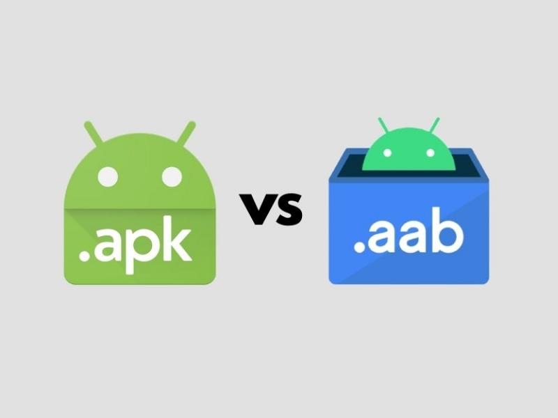 تفاوت APK و AAB