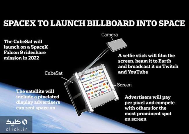 ماهواره تبلیغاتی اسپیس X