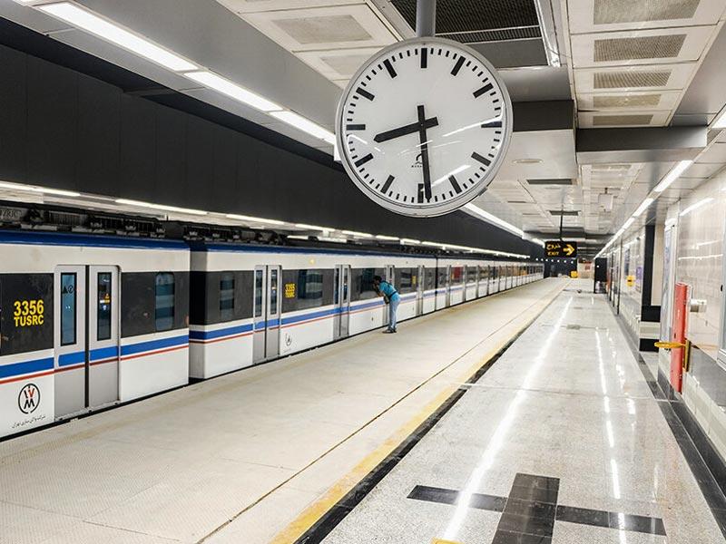 مترو تهران در تعطیلی ۵ روزه