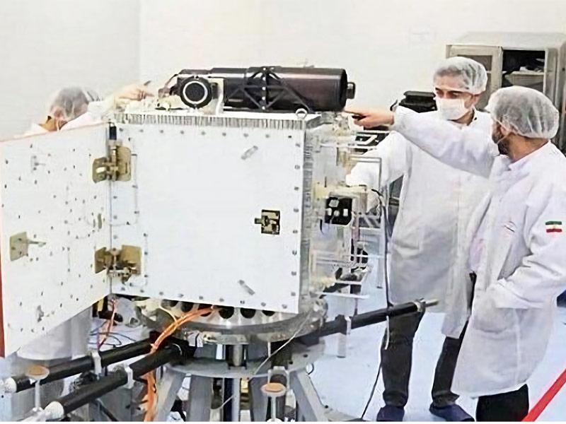 اپراتور ماهواره مخابراتی وعده زارع پور